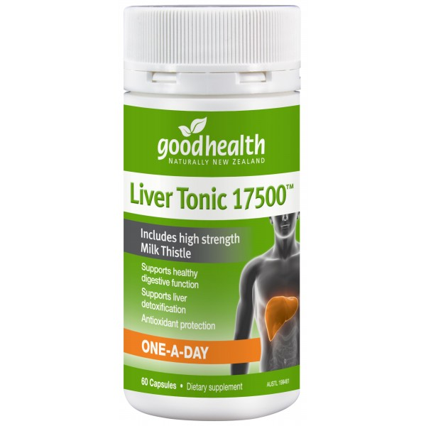 Good Health Liver Tonic Milk Thistle 60 Capsules