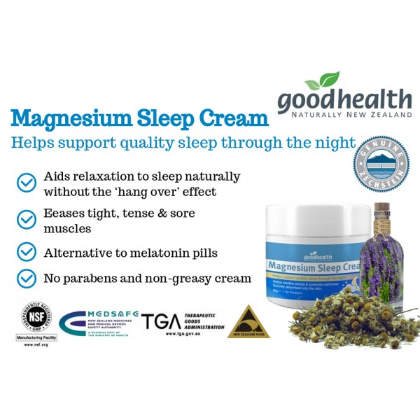 Good Health Magnesium Sleep Cream 90g