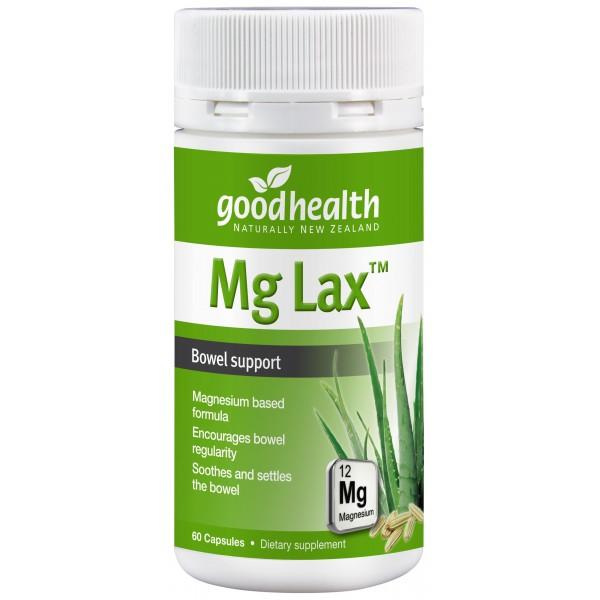 Good Health Mg Lax 60 Capsules