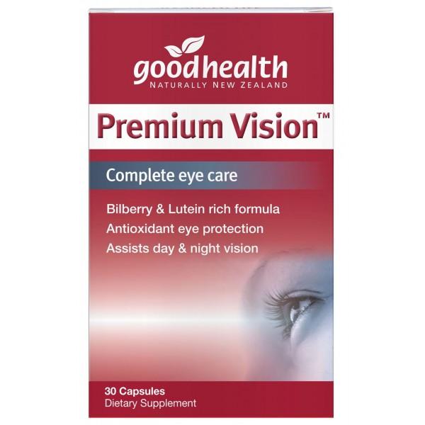 Good Health Premium Vision 30 Capsules