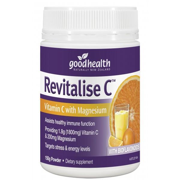 Good Health Revitalise C Powder 150g