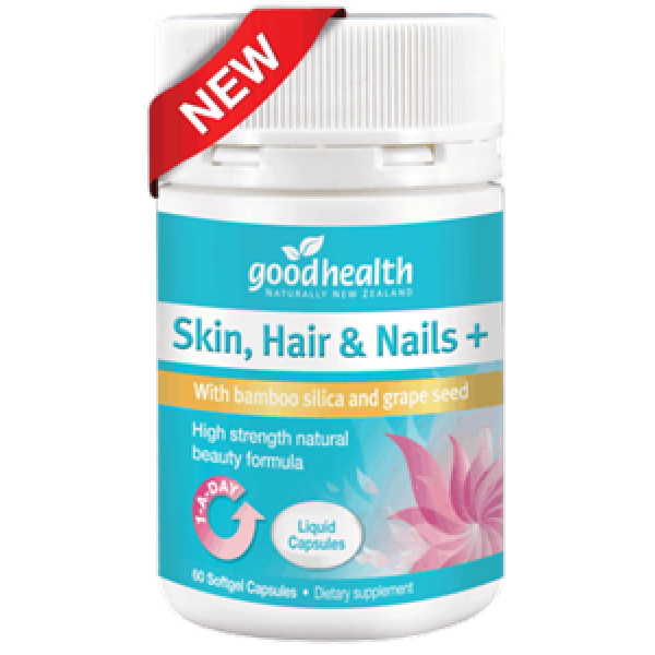 Good Health Skin, Hair & Nails Plus 60 Liquid Capsules
