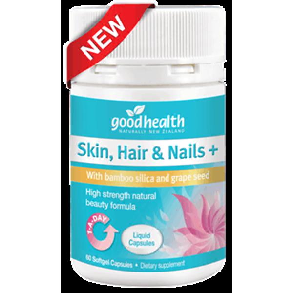 Good Health Skin, Hair & Nails Plus 60 Liquid Capsules