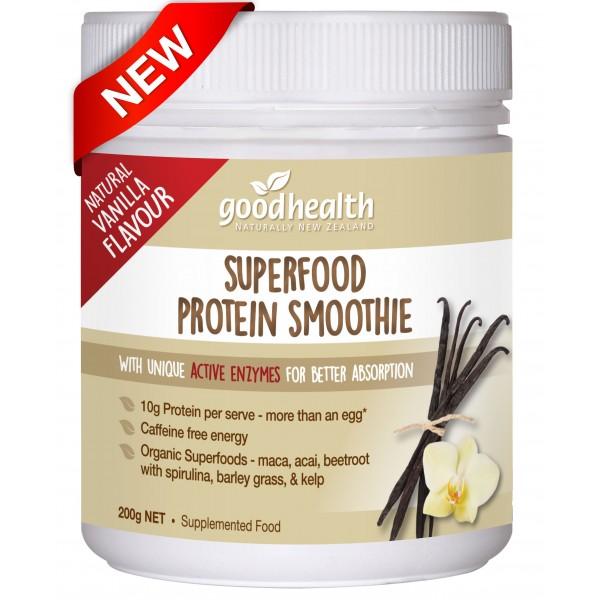 Good Health Superfood Protein Smoothie Vanilla Powder 200g