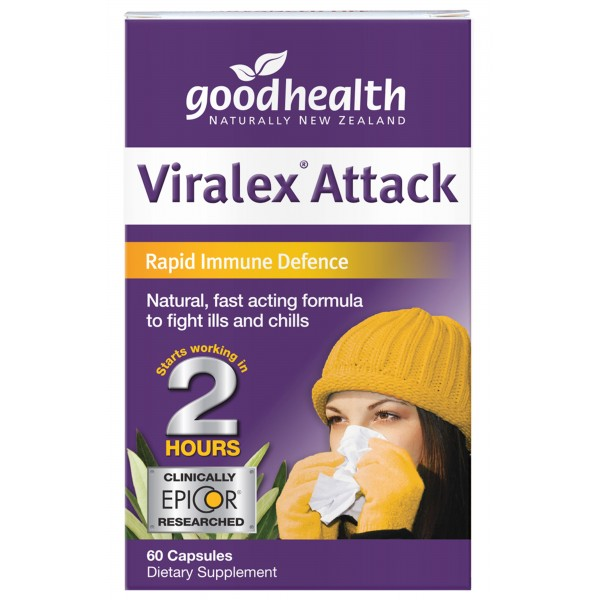 Good Health Viralex Attack 60 Capsules