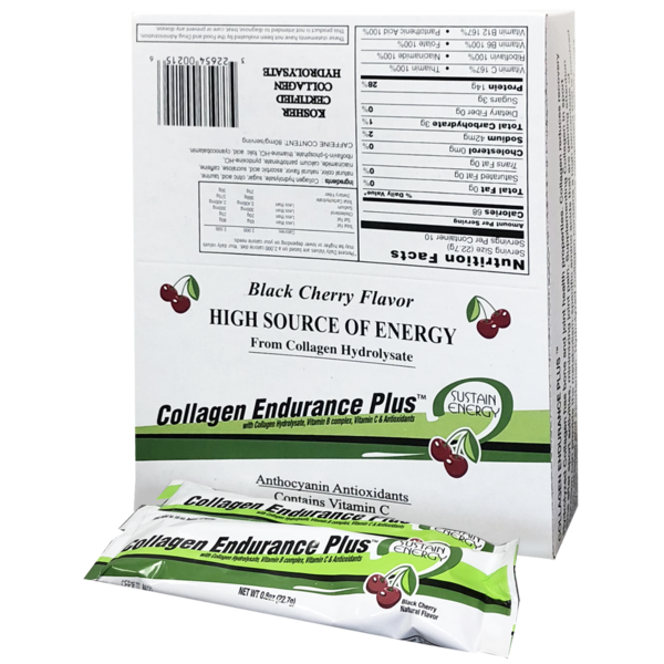 Great Lakes Gelatin Co. Collagen Endurance Plus 10 Sticks per Box