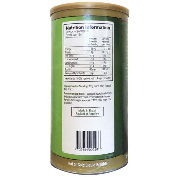 Great Lakes Gelatin Co. Collagen Hydrolysate 454g