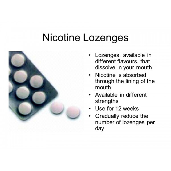 Habitrol Lozenges 1mg Mint Flavour 12 Lozenges