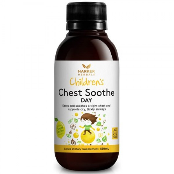 Harker Herbals Children's Chest Soothe DAYTIME 150ml