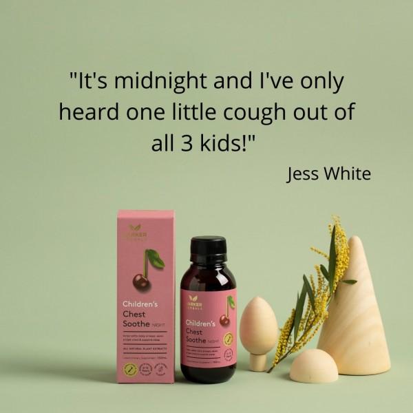 Harker Herbals Children's Chest Soothe Nighttime 150ml