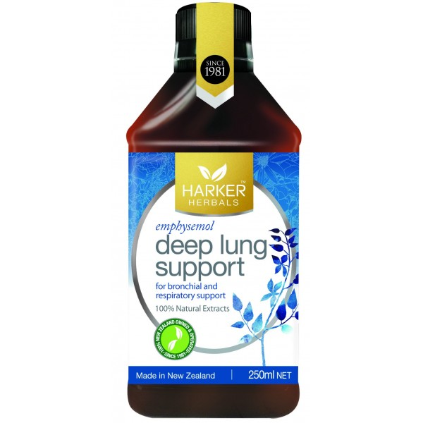 Harker Herbals Deep Lung Support (Emphysemol) 250ml