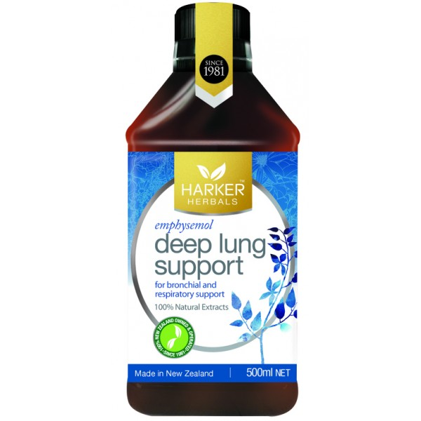 Harker Herbals Deep Lung Support (Emphysemol) 500ml