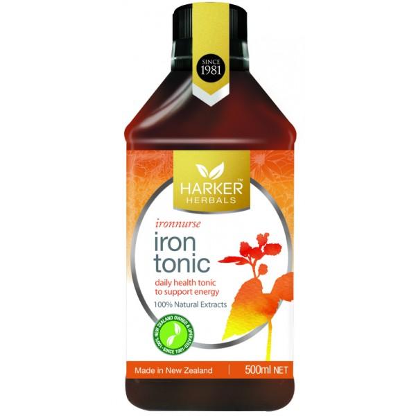 Harker Herbals Iron Tonic 500ml