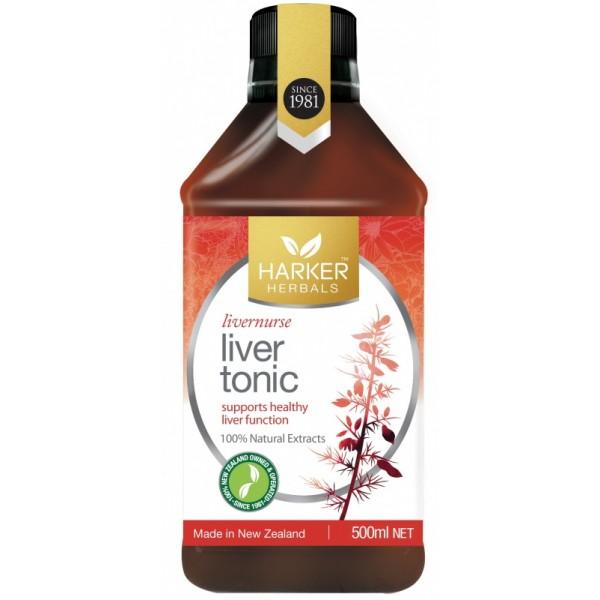 Harker Herbals Liver Tonic (Livernurse) 500ml
