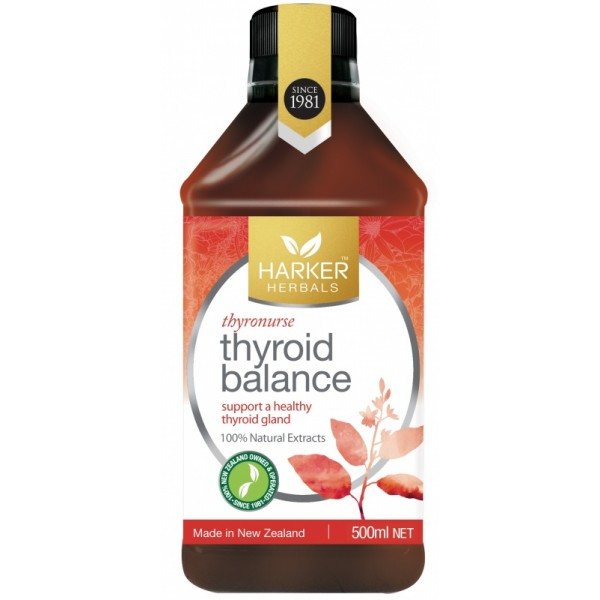 Harker Herbals Thyroid Balance (Thyronurse) 500ml