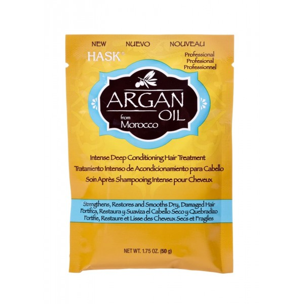 Hask Argan Oil Repairing Deep Conditioner Treatment Sachet 50g