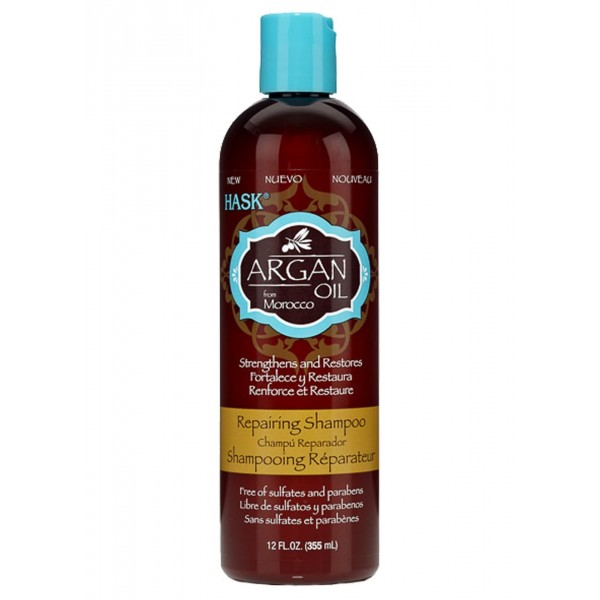 Hask Argan Oil Repairing Shampoo 355ml