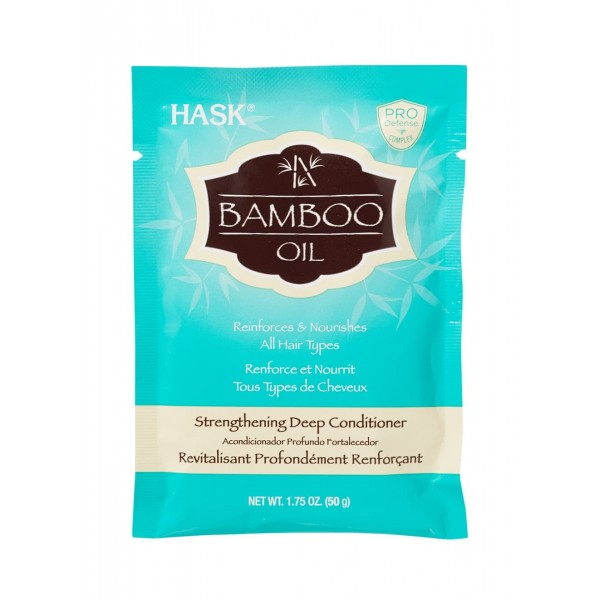 Hask Bamboo Oil Strengthening Deep Conditioner Hair Treatment Sachet