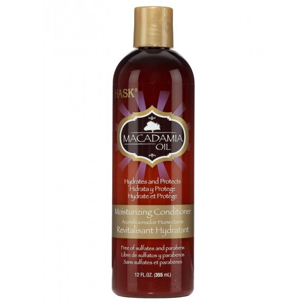 Hask Macadamia Oil Moisturizing Conditioner 355ml