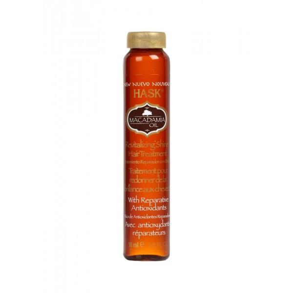 Hask Macadamia Oil Moisturizing SHINE Oil Vial 18ml