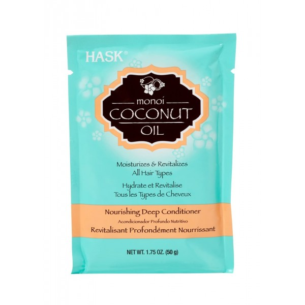 Hask Monoi Coconut Oil Nourishing Deep Conditioner Treatment Sachet 50g