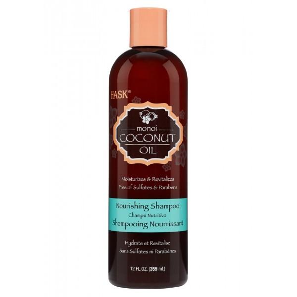 Hask Monoi Coconut Oil Nourishing Shampoo 355ml