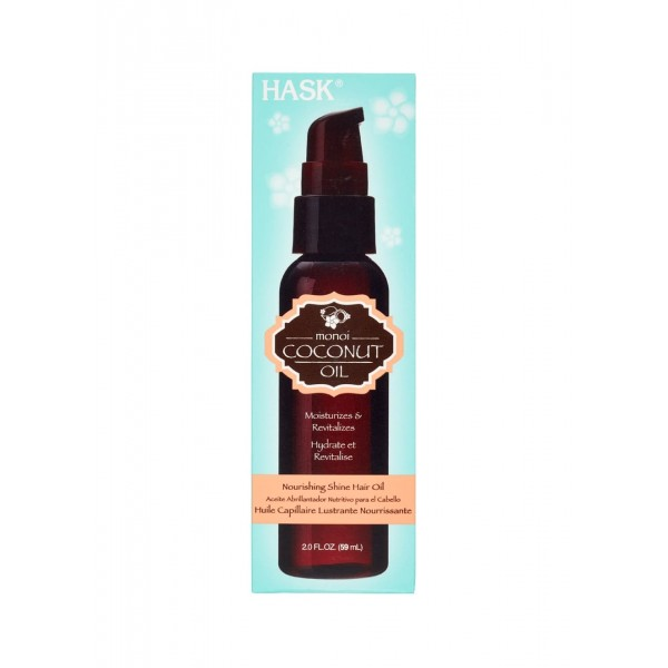 Hask Monoi Coconut Oil Nourishing Shine Oil 59ml