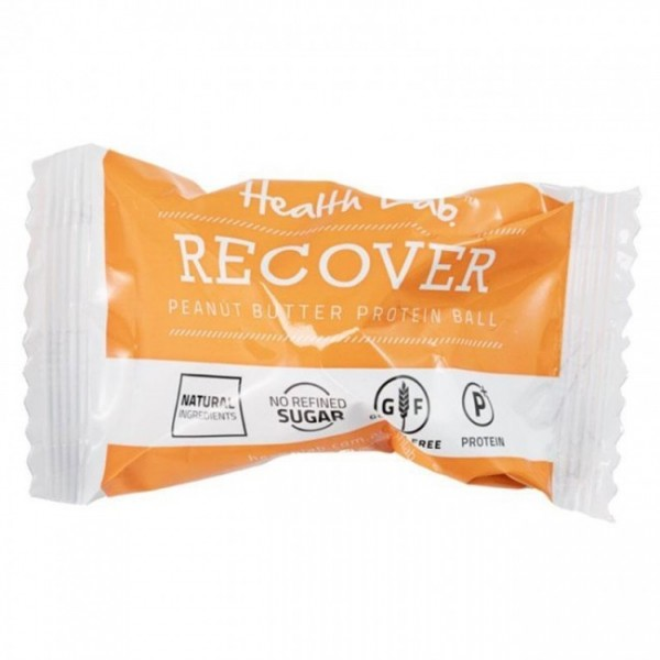 Health Lab Recover Peanut Butter Protein Ball 40g Single