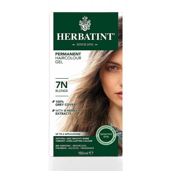 Herbatint Permanent Haircolour Gel Blonde 7N