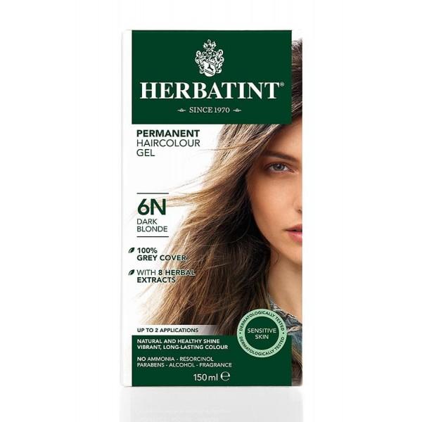 Herbatint Permanent Haircolour Gel Dark Blonde 6N