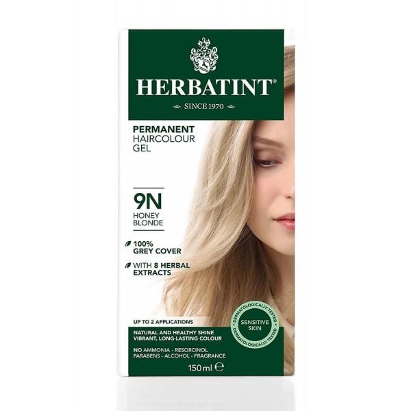 Herbatint Permanent Haircolour Gel Honey Blonde 9N
