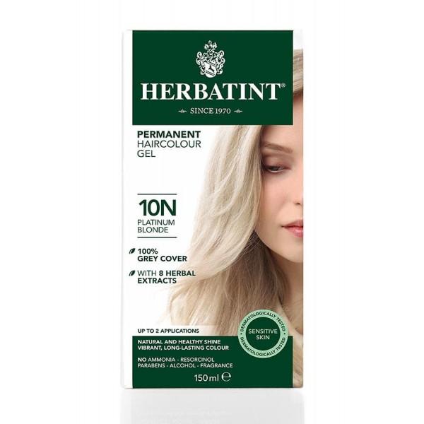 Herbatint Permanent Haircolour Gel Platimum Blonde 10N