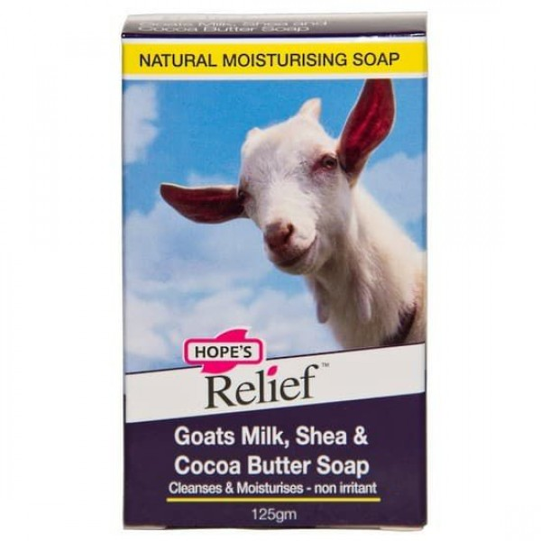 Hope's Relief Goats Milk Bar Soap 125g