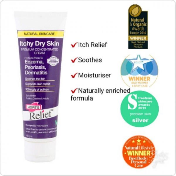 Hope's Relief Itchy Dry Skin Cream 60g