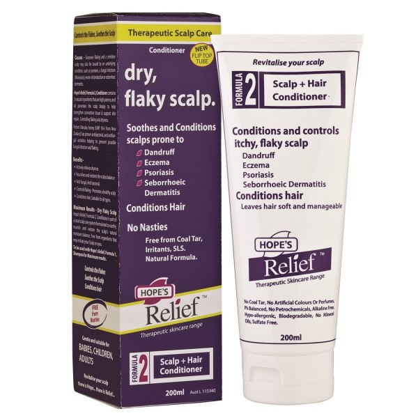 Hope's Relief Itchy, Flaky Scalp Conditioner 200ml