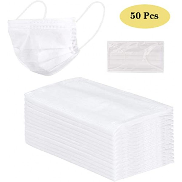 Kids White Surgical Face Mask 50 Pieces