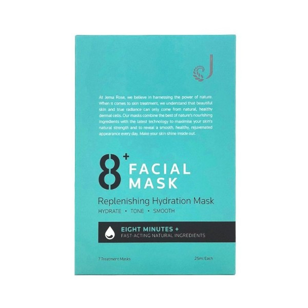 8+ Minute Replenishing Hydration Facial Mask 7 Pieces