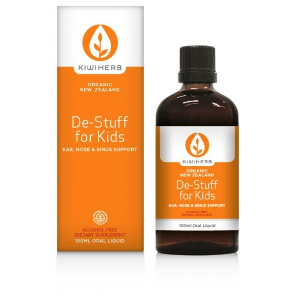 Kiwiherb De-Stuff For Kids 100ml