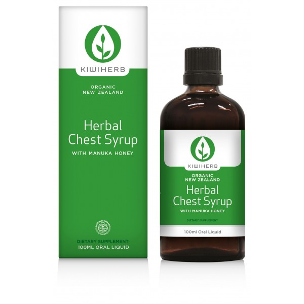 Kiwiherb Adult Herbal Chest Syrup 100ml