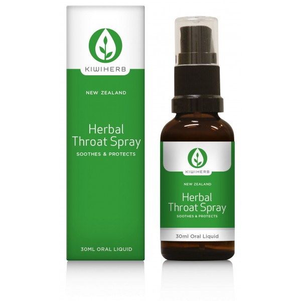 Kiwiherb Herbal Throat Spray 30ml