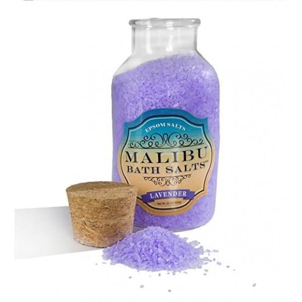 Malibu Lavender Bath Salts 624g