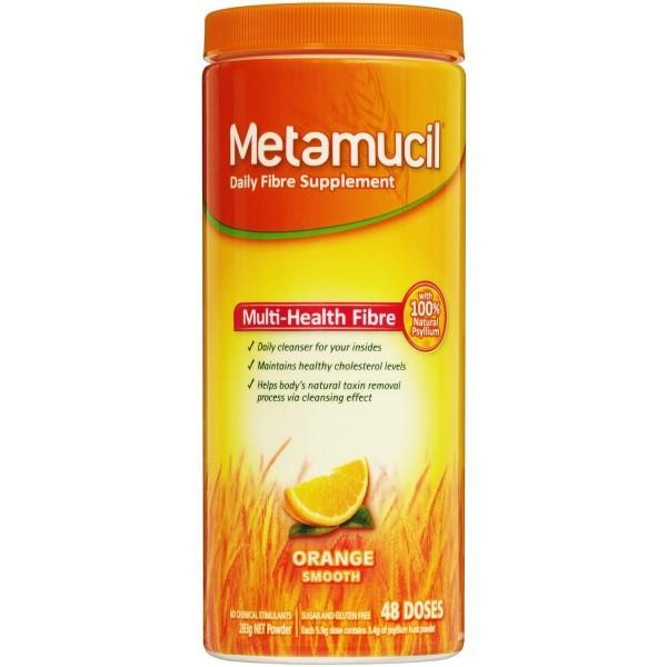 Metamucil Orange Powder 48 Doses