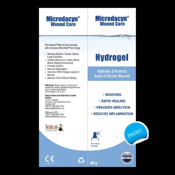 Micro Heal Microdacyn Wound Care Hydrogel Spray 60g