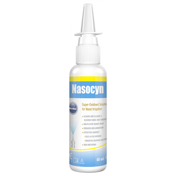Micro Heal Nasocyn Nasal Spray 60ml
