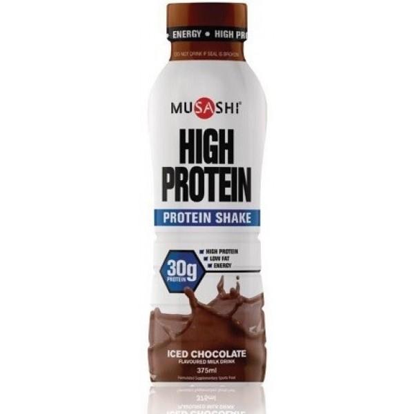 Musashi Protein Drink Iced Chocolate 375ml