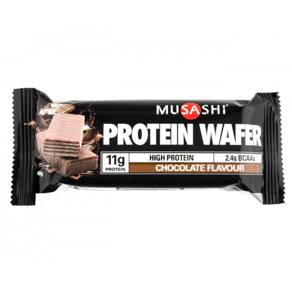 Musashi Protein Wafer Chocolate Bars 11g