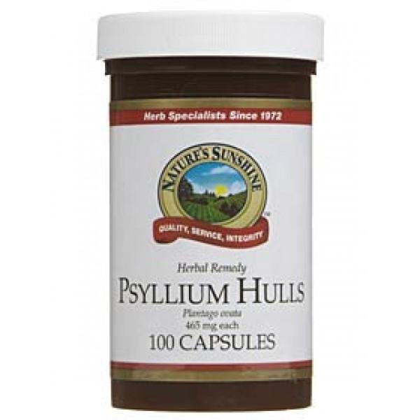 Nature's Sunshine Psyllium Hulls 100 Capsules