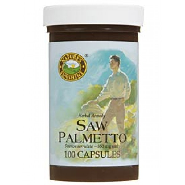 Nature's Sunshine Saw Palmetto 100 Capsules