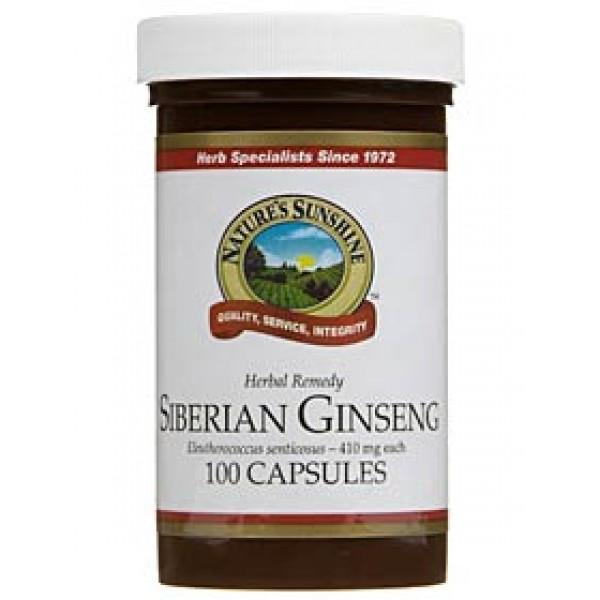 Nature's Sunshine Siberian Ginseng 100 Capsules
