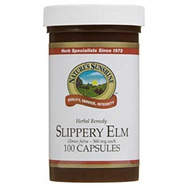 Nature's Sunshine Slippery Elm 100 Capsules
